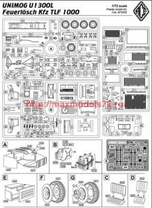 ACE72452   Unimog U 1300L Feuerl?sch Kfz TLF 1000 (attach9 50641)