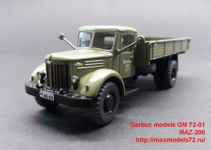 GM 72-01   MAZ-200 (attach3 48069)