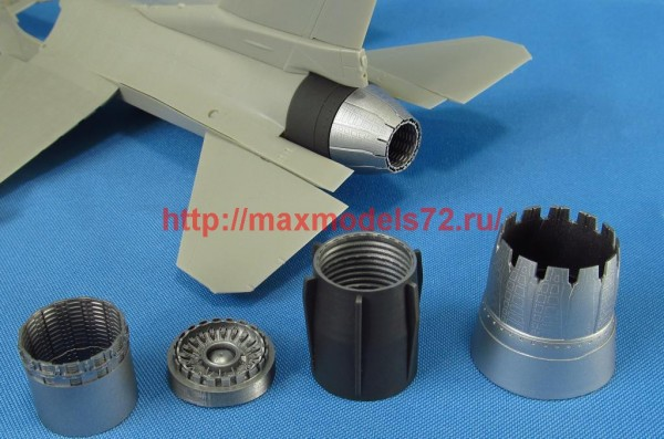 MDR4862   F-16. Jet nozzle for engine F110 (opened) (Tamiya) (thumb48831)