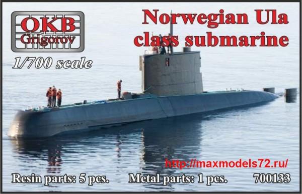 OKBN700133   Norwegian Ula class submarine (thumb48406)