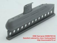 OKBN700134   Swedish submarine class V?sterg?tland (attach4 48411)