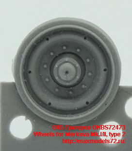 OKBS72473   Wheels for Merkava Mk.I/II, type 2 (thumb48387)