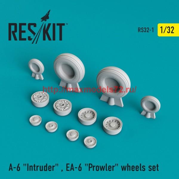 "RS32-0001   A-6 ""Intruder"" , EA-6 ""Prowler"" wheels set (thumb45087)"