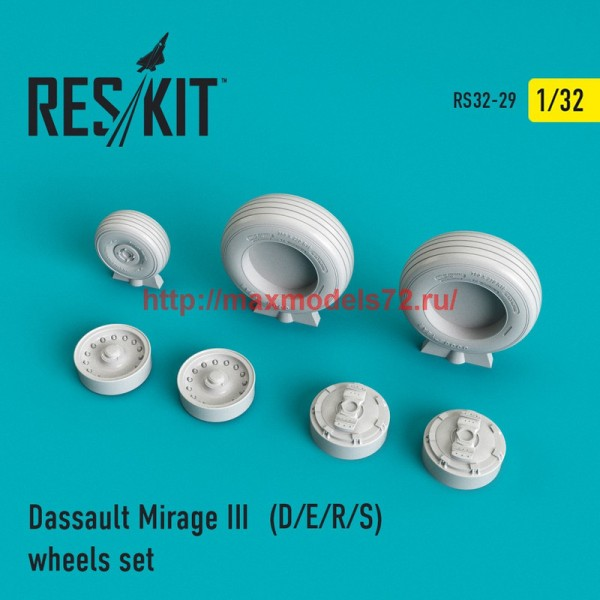 RS32-0029   Mirage III (D/E/R/S) wheels set (thumb45120)