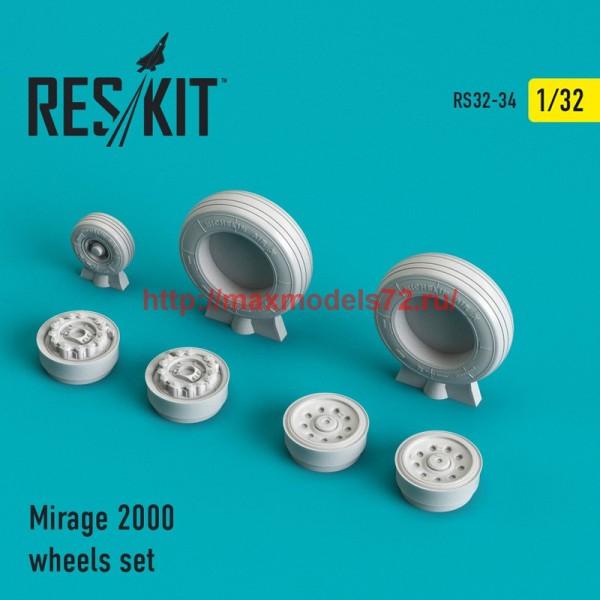 RS32-0034   Mirage 2000 wheels set (thumb45122)