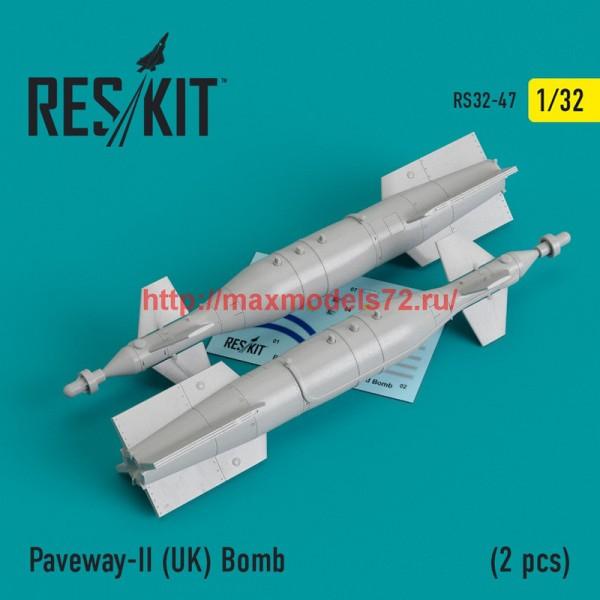 RS32-0047   Paveway-II (UK) Bomb (2 pcs) (Tornado, Eurofighter,) (thumb45124)