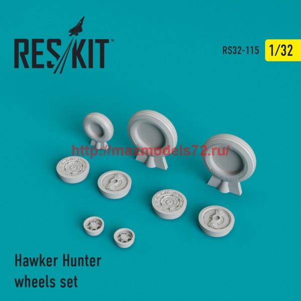 RS32-0115   Hawker Hunter wheels set (thumb45135)