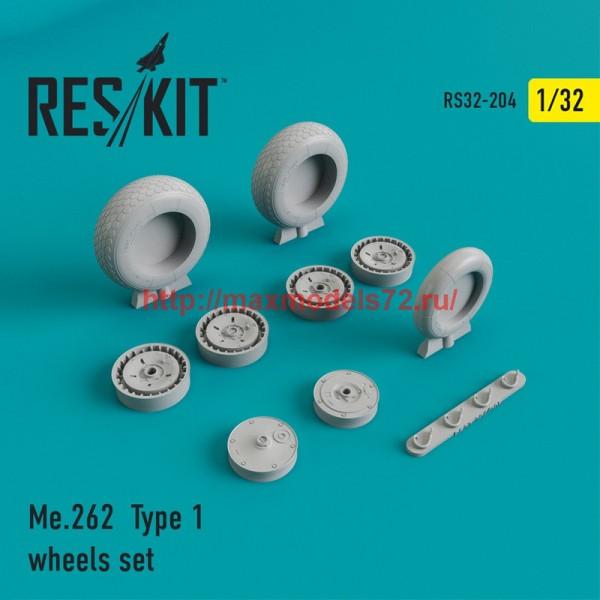 RS32-0204   Me.262 Type 1 wheels set (thumb45165)