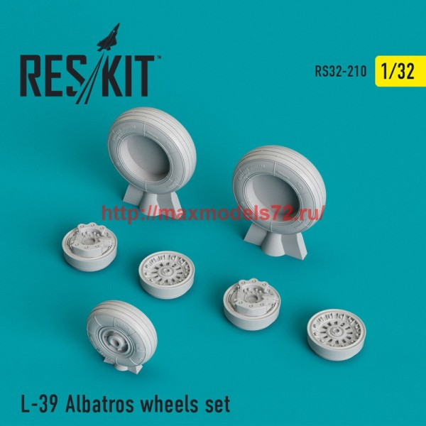 RS32-0210   L-39 Albatros wheels set (thumb45169)
