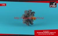 AR ACA4819   1/48 «Jaguar»-IV aircraft engine (attach1 47752)