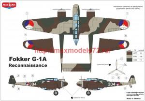 MMir48-018   Fokker G-1 reconnaissance version (attach4 48590)