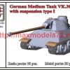 OKBV72089   German Medium Tank VK.3002 (DB) with suspension type I (thumb50473)