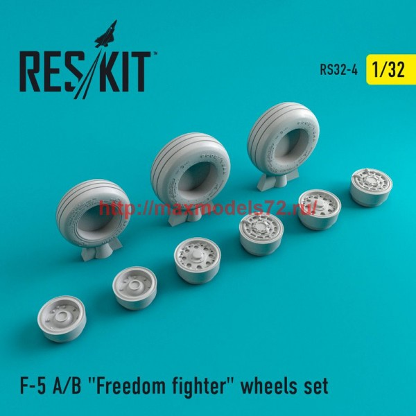 "RS32-0004   F-5 A/B ""Freedom fighter"" wheels set (thumb47543)"