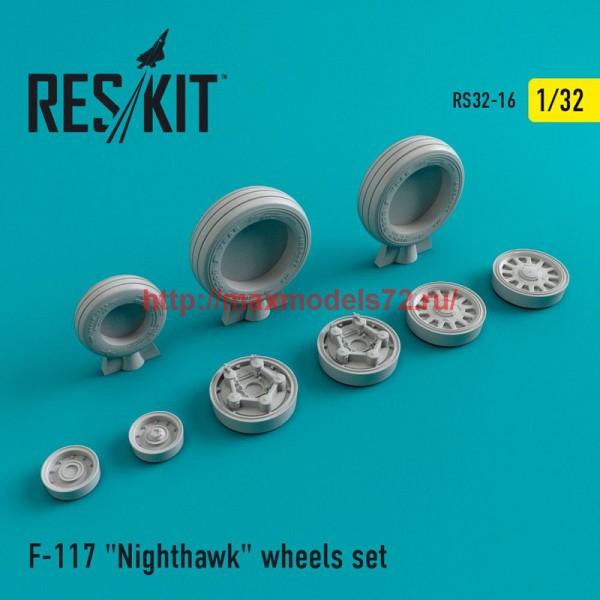 "RS32-0016   F-117 ""Nighthawk"" wheels set (thumb47545)"