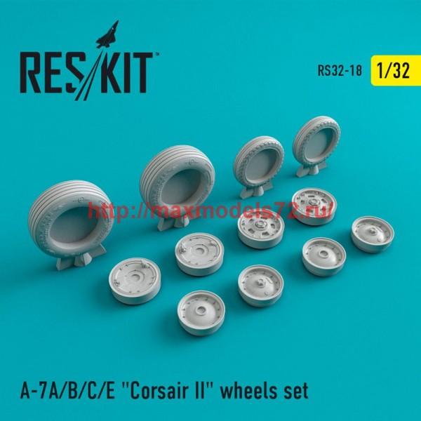 """RS32-0018   A-7 """"Corsair II""""A/B/C/E wheels set (thumb47547)"""