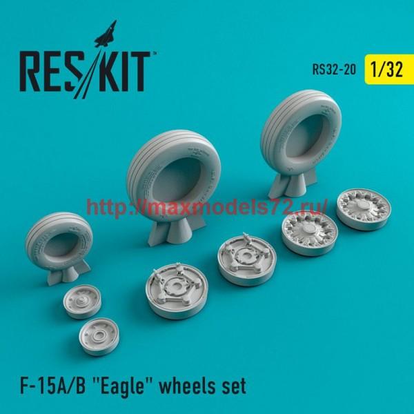 "RS32-0020   F-15 (A/B) ""Eagle"" wheels set (thumb47551)"