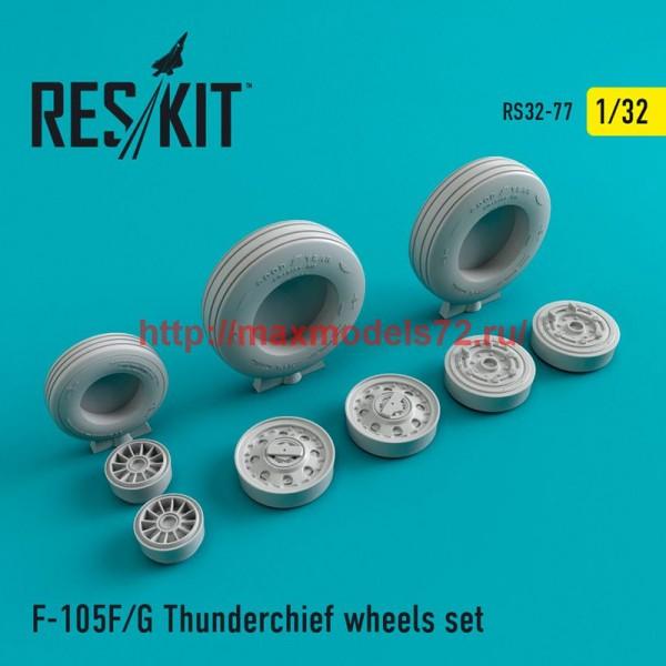 RS32-0077   F-105 (F,G) wheels set (thumb47559)