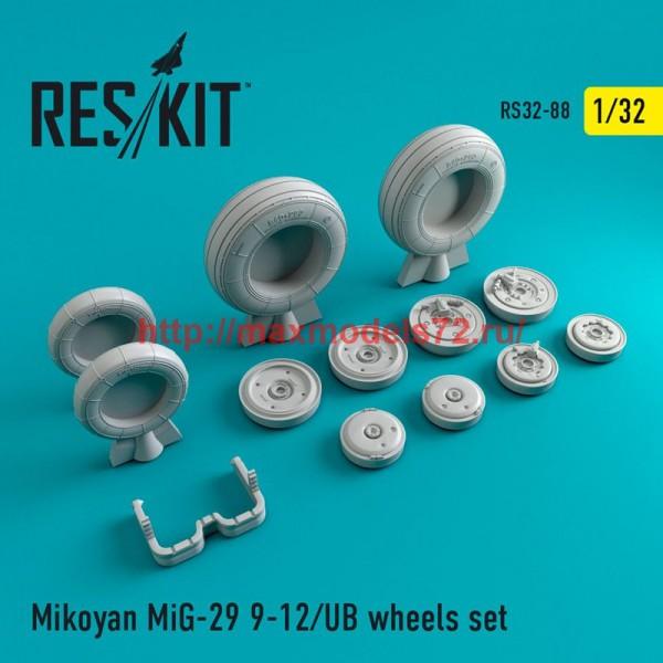 RS32-0088   Mikoyan MiG-29 (9-12) UB  wheels set (thumb47567)