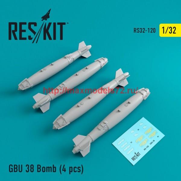 RS32-0120   GBU 38 Bomb (4 pcs) (thumb47575)
