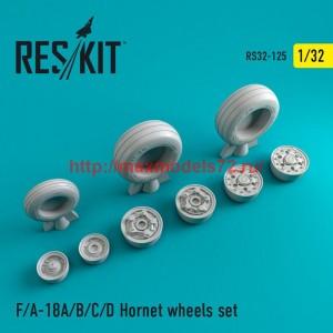 RS32-0125   F-18 Hornet wheels set (thumb47577)
