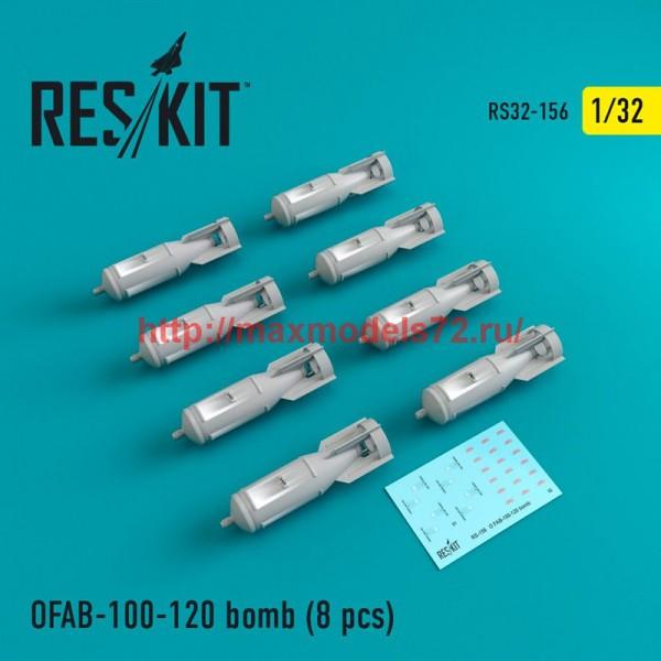 RS32-0156   OFAB-100-120 bomb (8 pcs) Su-7, Su-17, Su-24, Su-25, Su-27, Su-30, Su-34, MiG-21, MiG-27, Yak-38, Jak-130 (thumb47585)