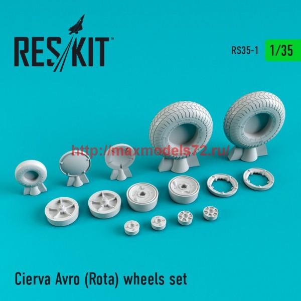 RS35-0001   Cierva Avro (Rota) wheels set (thumb47531)