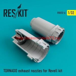 RSU32-006   TORNADO exhaust nozzles for Revell (thumb47601)