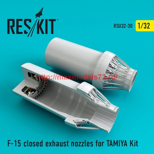 RSU32-030   F-15 closed exhaust nozzles for  TAMIYA Kit (thumb47623)