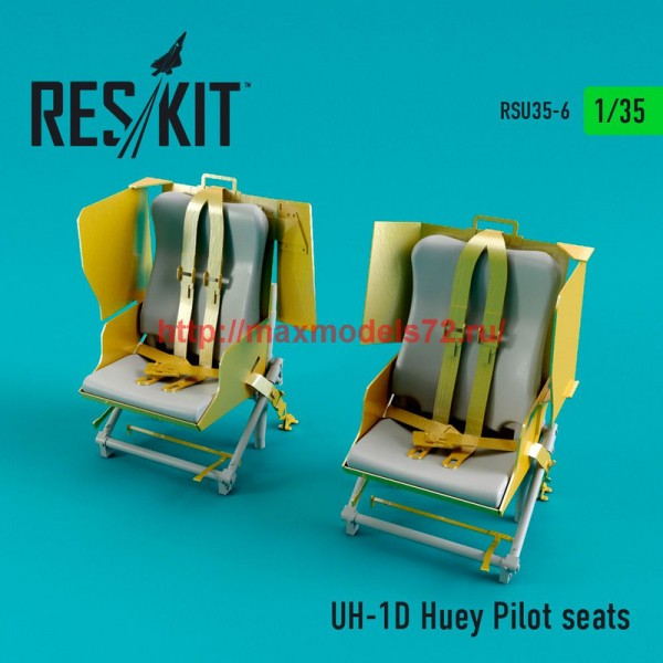 RSU35-0006   UH-1D Huey Pilot seats (thumb47537)