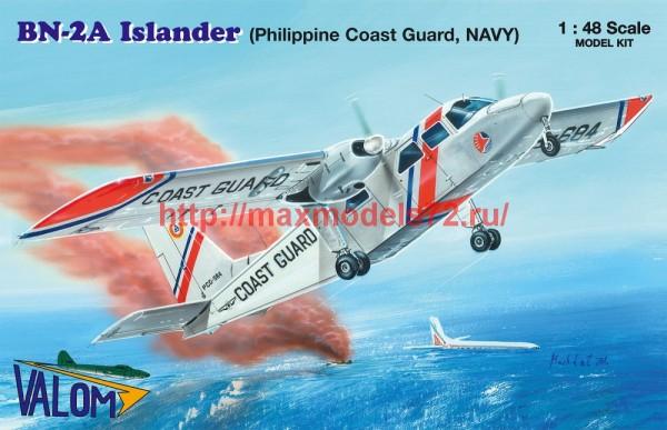 VM48014   BN-2A Islander (Philippine Coast Guard, NAVY) (thumb47415)