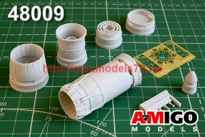 АМG 48009   МиГ-23МЛ /МЛА/ МЛД, МиГ-23П, МиГ-23МС сопло двигателя Р-35 (thumb48137)