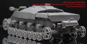 OKBV72084   German Self Propelled Anti-Tank Gun Pz.IV mit 7.5 cm Stu.G.40 (attach4 49027)