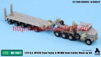 TetraME-72017   1/72 US M1070 & M1000 Trailer Detail-up Set (for Takom) (attach1 47945)