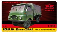AME72150   ROBUR LO1800 Light Truck w. CANVAS Resin kit w. PE set (thumb48466)