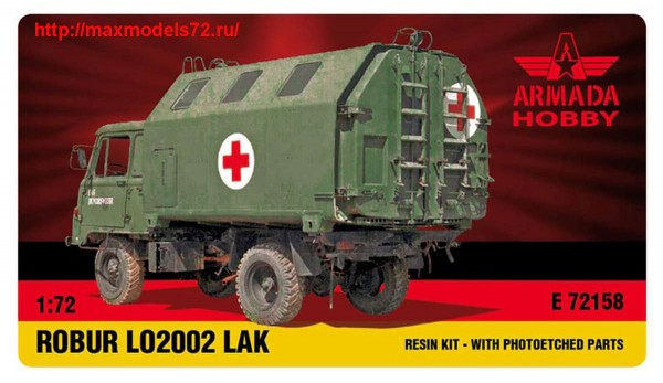 AME72158   ROBUR LO 2002 with LAK-1 Resin kit w. PE set (thumb48478)
