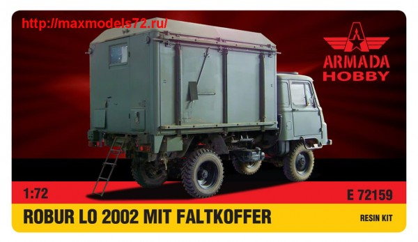AME72159   ROBUR LO 2002 with FALTKOFFER Resin kit w. PE set (thumb48480)