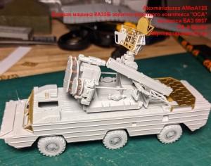 """AMinA128   Боевая машина 9А33Б зенитно-ракетного комплекса """"ОСА"""" на шасси БАЗ 5937   SA-8 Gecko (attach3 49084)"""