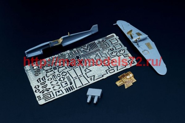 BRL144165   Bf-109 G-10 (Mark I kit) (thumb49238)