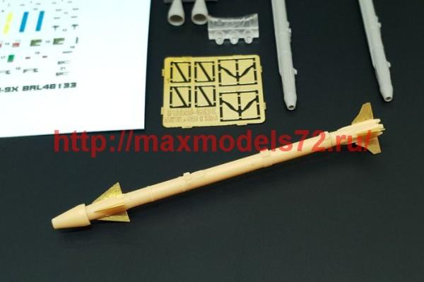 BRL48133   AIM-9X Sidewinder (2pcs) (thumb49364)