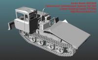 SM72009   Гусеничный трелевочный трактор ТДТ-55А   crawler skidding tractor TDT-55A (attach3 49563)