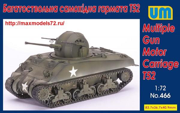 UM466   Multiple Gun Motor Carriage T52 (thumb48313)