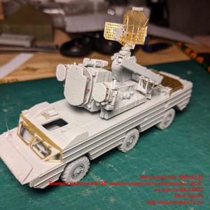 """AMinA128   Боевая машина 9А33Б зенитно-ракетного комплекса """"ОСА"""" на шасси БАЗ 5937   SA-8 Gecko (attach2 49084)"""