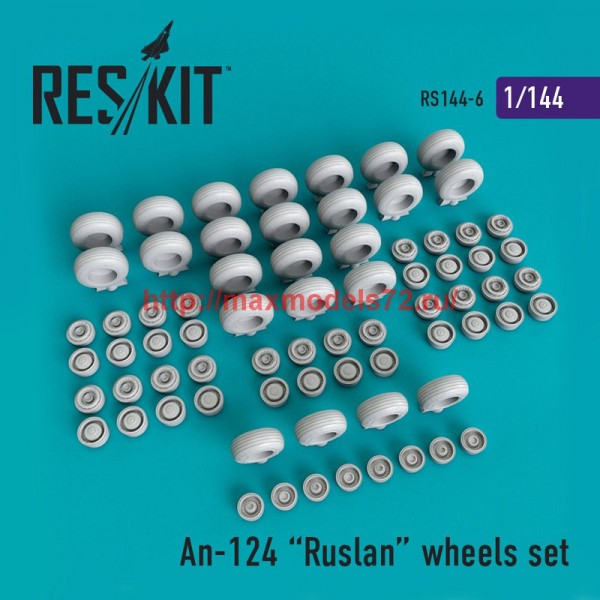 RS144-006   An-124 Ruslan wheels set (thumb48784)