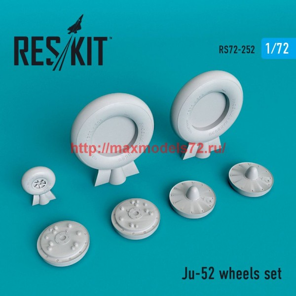 RS72-0252   Ju -52 wheels set (thumb48647)