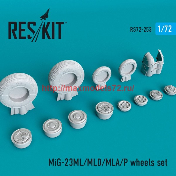 RS72-0253   MiG-23(ML/MLD/MLA/P)  wheels set (thumb48649)