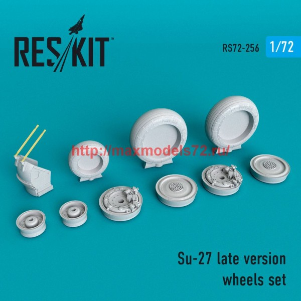 RS72-0256   Su-27 late version wheels set late version (thumb48655)