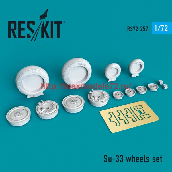 RS72-0257   Su-33 wheels set (thumb48657)