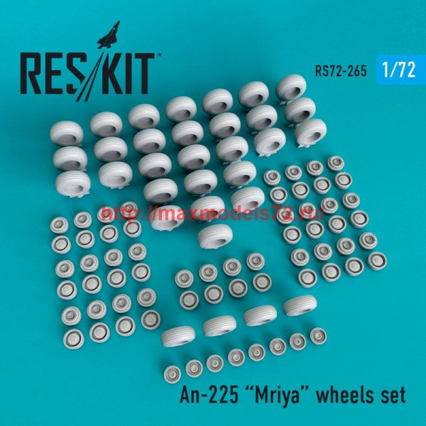 RS72-0265   An-225 Mriya wheels set (thumb48671)