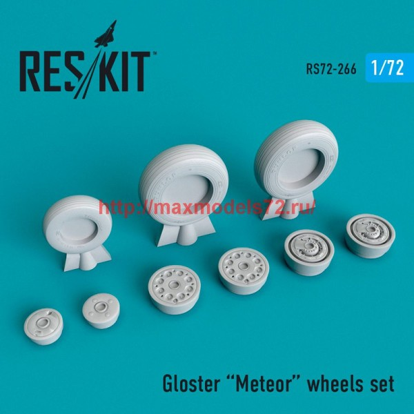 RS72-0266   Gloster Meteor wheels set (thumb48673)