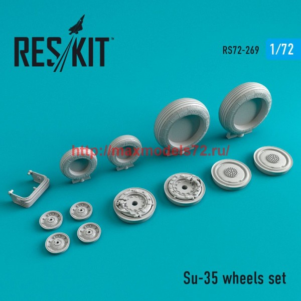 RS72-0269   Su-35 wheels set (thumb48679)